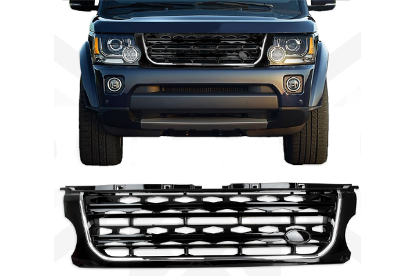 "Discovery 4 ""Facelift Style"" Grille - Black & Chrome (2014-2016)"